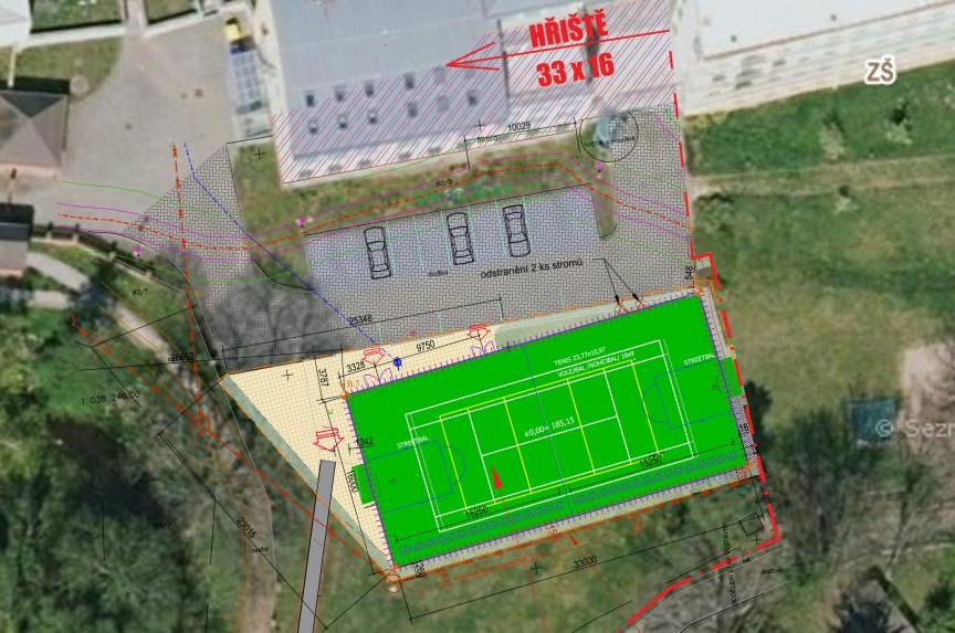 Základní škola Tyršova se letos dočká nového sportovního hřiště